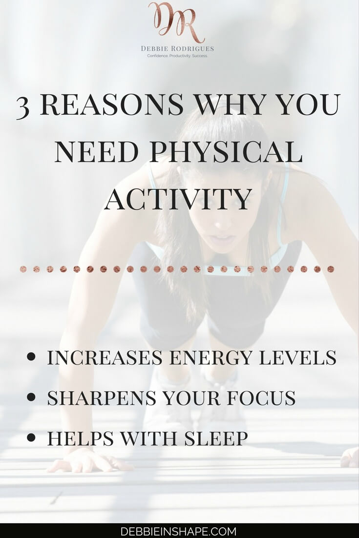 Make time for physical activity for success. Understand how not only your health benefits from exercising regularly. Boost your confidence and efficiency one day at a time. Join the 52-Week Challenge For A More Productive You for accountability, support, and guidance. #productivity #confidence #success #fitness #health