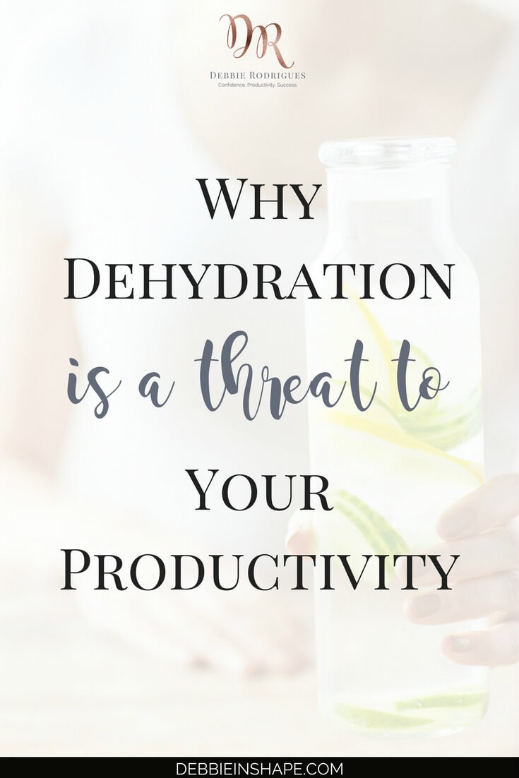 Understand how damaging the combo dehydration and productivity is. Start working on it for your health and efficiency. Learn how you can create space in your schedule for the things you love one day at a time by joining my FREE VIP Tribe today. #productivity #confidence #success #health #lifestyle