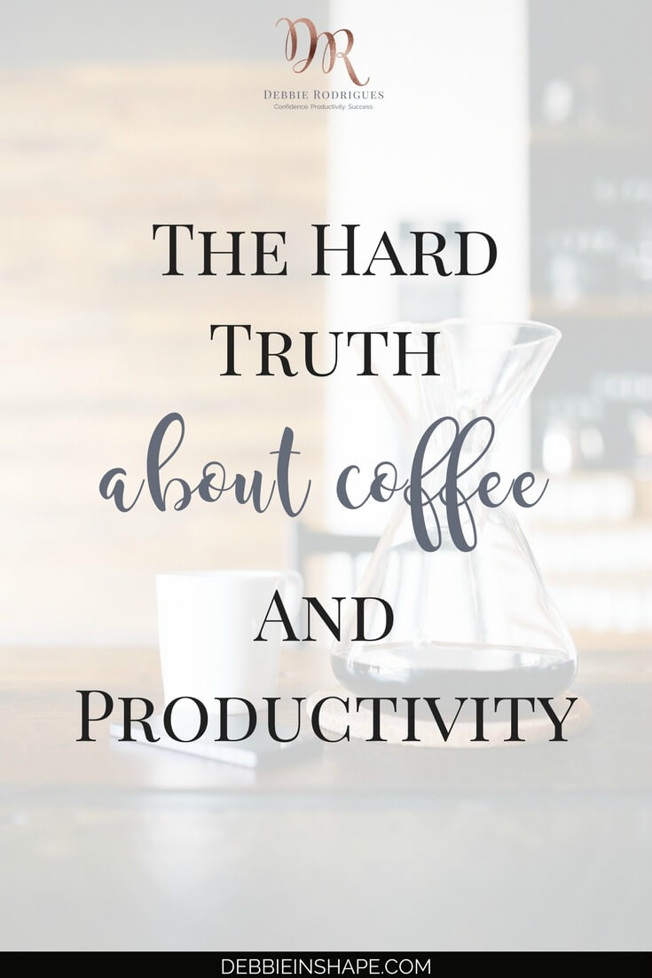 The hard truth about coffee and productivity may surprise you. It might be the missing link to maximizing your efficiency. Discover how caffeine and other not-so-obvious productivity killers are getting in your way. Join the 52-Week Challenge For A More Productive You today. #productivity #confidence #success #health #coffee