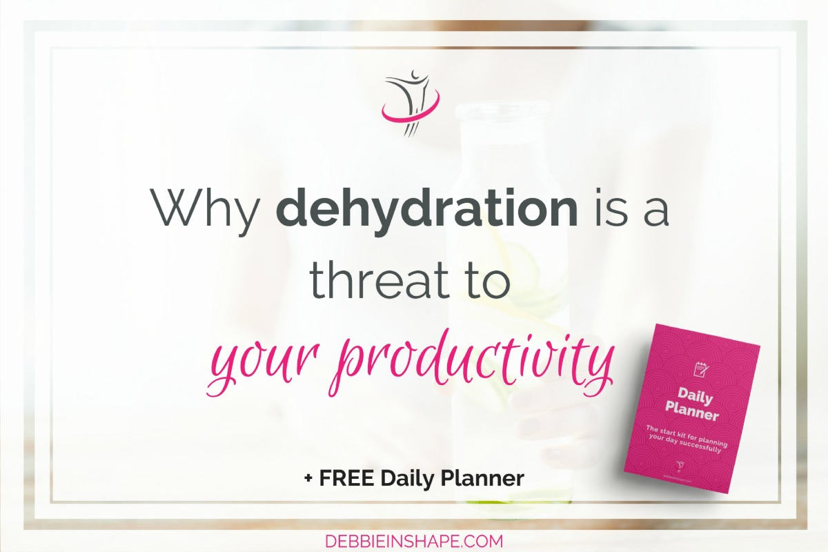 Why Dehydration Is A Threat To Your Productivity
