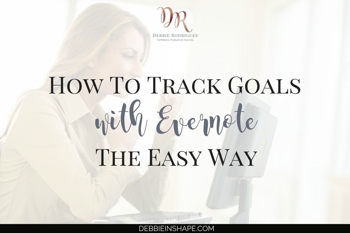 Don't lose sight of your objectives. Discover how you can track goals with Evernote to become more efficient. Join the 52-Week Challenge For A More Productive You and get all the support, motivation, and accountability you need to be successful. #productivity #confidence #success #goals