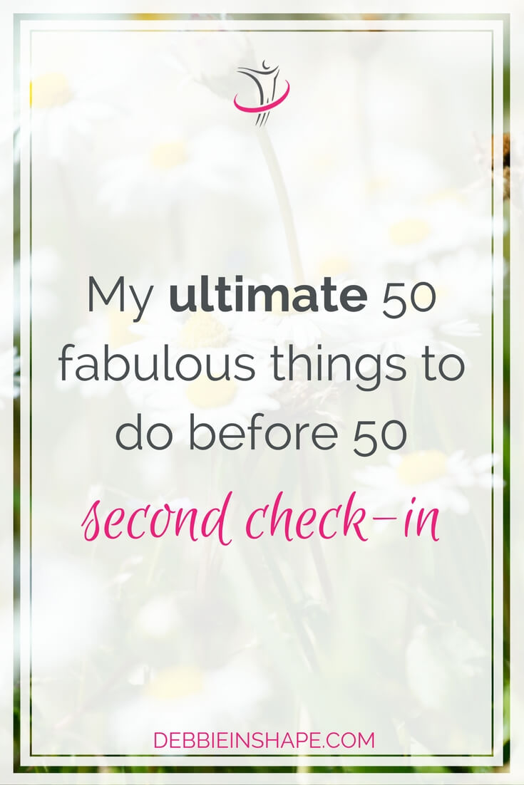 Check the second check-in of my 50 things before 50. Learn about my updates, progress and get inspiration to achieve more whatever your age. Read all about it on the blog!