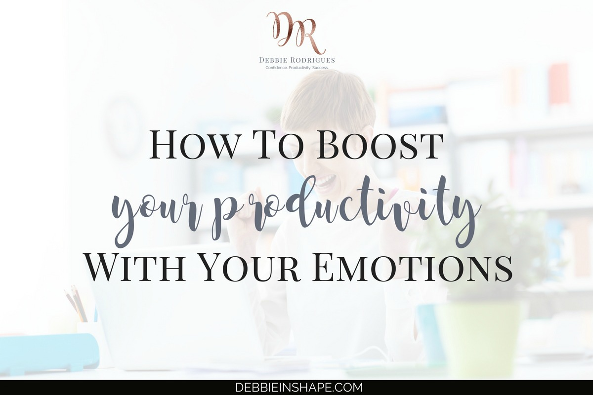 Managing your emotions is much more than holding them back or hiding your feelings. Discover all about their influence on your efficiency. Come to the 52-Week Challenge For A More Productive You and learn how to create space in your schedule for the things that truly matter. #productivity #confidence #success #journaling #emotions