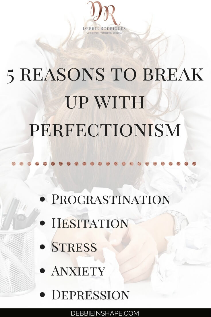 You don't want perfection in your life. Here's why! Learn how to get rid of this personality trait on the blog. Come to the 52-Week Challenge For A More Productive You today and receive all the support and motivation you need to overcome perfectionism one day at a time. #productivity #confidence #success #journaling #perfectionism