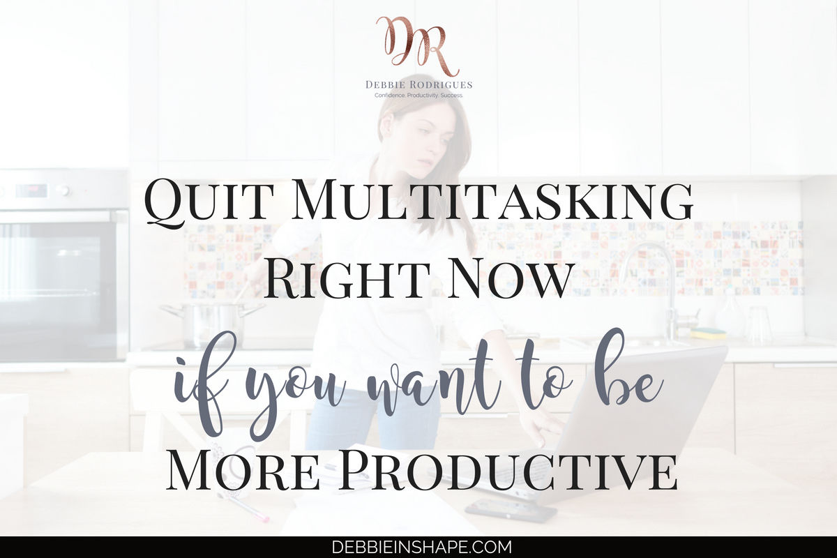 When you quit multitasking it's like breaking free from The Matrix. Learn the reality of switch-tasking and stop doing it for the sake of your efficiency. Join the 52-Week Challenge For A More Productive You to learn how to boost your efficiency one day at a time. #productivity #confidence #success