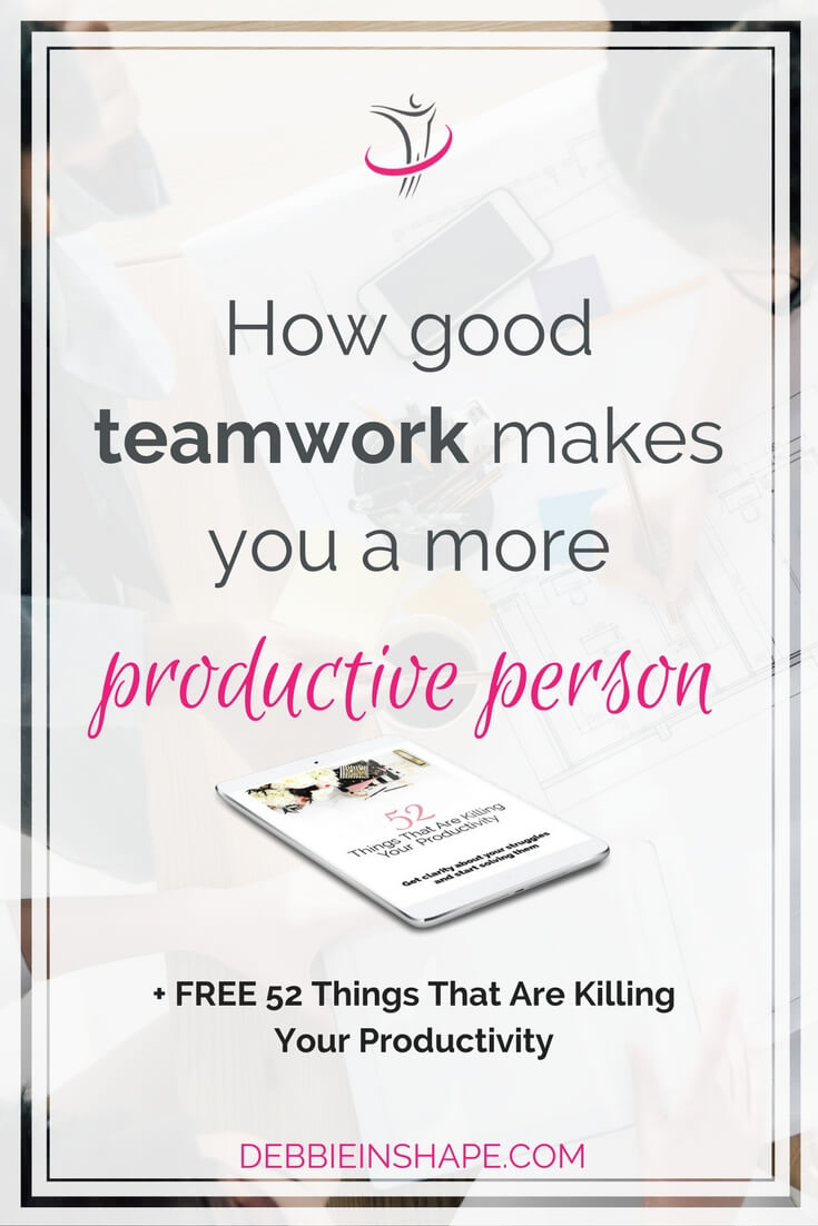 Whether at home or at work, discover how you can improve your relationships and build good teamwork to be more productive. Because even if you run your business, or blog, by yourself, you still need to collaborate with others to be successful. Read how you can do it the efficient way to avoid feeling overwhelmed on the blog.