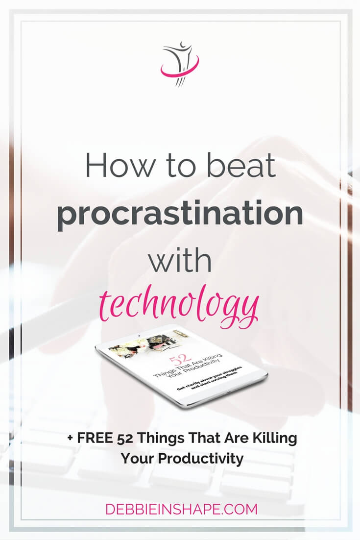 Discover how to beat procrastination with technology the easy way. Learn what you really need to know about it to use to your advantage. Stop wasting time and money with the latest fad. Join the 52-Week Challenge For A More Productive You and start exchanging ideas and experience with other like-minded achievers for accountability and support.