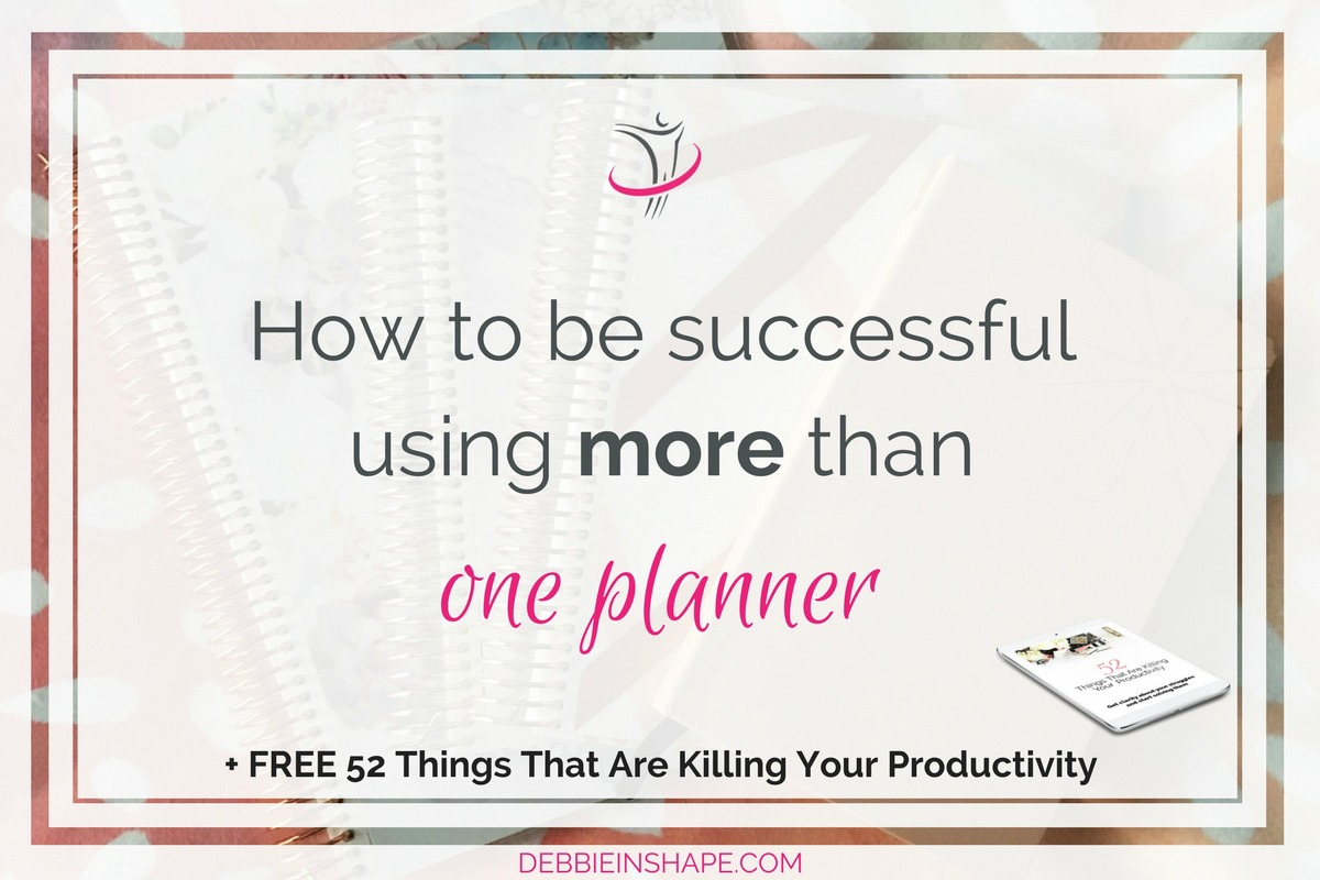 Ever wondered how people are successful using more than one planner? Learn how I'm doing it for inspiration. Learn how to find balance and manage them by joining my FREE VIP Tribe. Become a member of an awesome community of high-achievers. #productivity #confidence #success