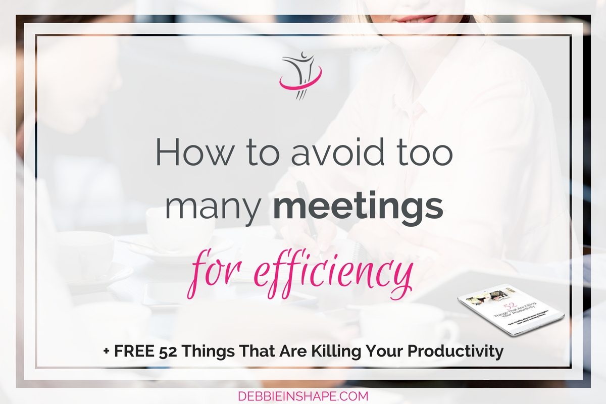How To Avoid Too Many Meetings For Efficiency