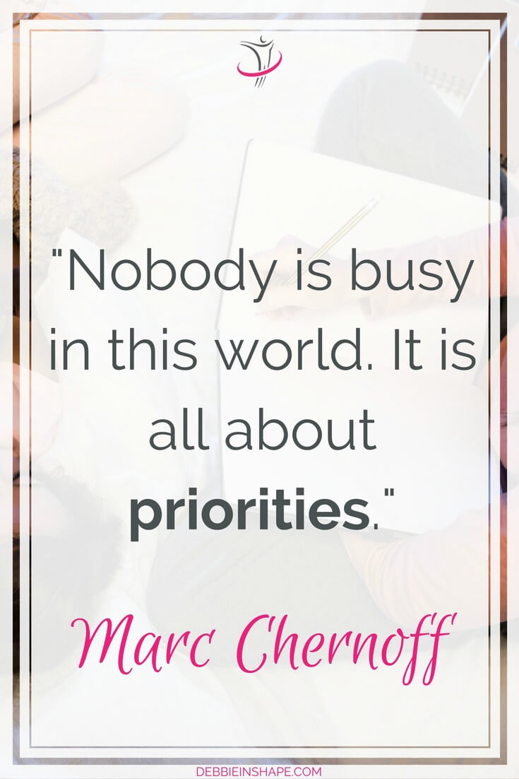 How to get rid of busy work with the right priorities. Because the difference between those who achieve more and the rest is the way they use their time. To make sure you stay on track and motivated, come on over to my FREE VIP Tribe today and become a member of a community of awesome like-minded achievers. #productivity #confidence #success #priorities #lifestyle