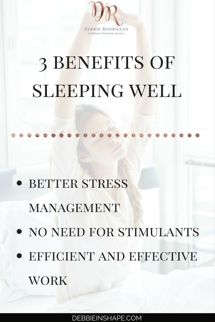 Why you need to sleep better to achieve your goals. Discover how you can be more efficient by sleeping more. Improve your recovery to get more done during the day with recovery. Learn everything about it on the blog. Join the 52-Week Challenge For A More Productive You and become a member of an awesome community of achievers for support, accountability, and motivation. #productivity #confidence #success #lifestyle #health