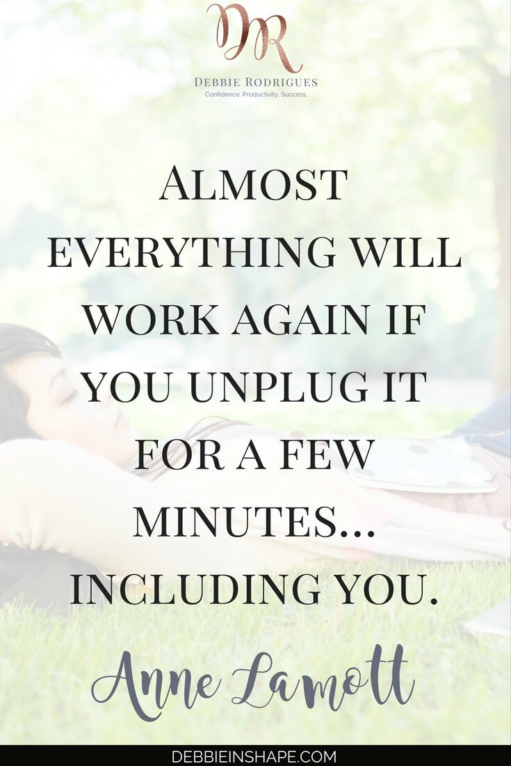How to be more efficient and successful by taking a break. Discover the benefits pauses have on your productivity. To find out how to overcome other not-so-obvious efficiency killers one day at a time, join the 52-Week Challenge For A More Productive You today. #productivity #confidence #success #lifestyle #health #quote