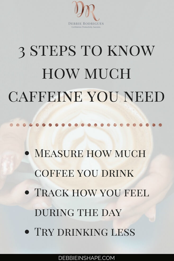 How to find out the optimal amount you should be drinking. Because what works for me doesn't necessarily work for you. Come to the 52-Week Challenge For A More Productive You and get all the support and motivation you need to achieve your Goals. #productivity #confidence #success #health #coffee