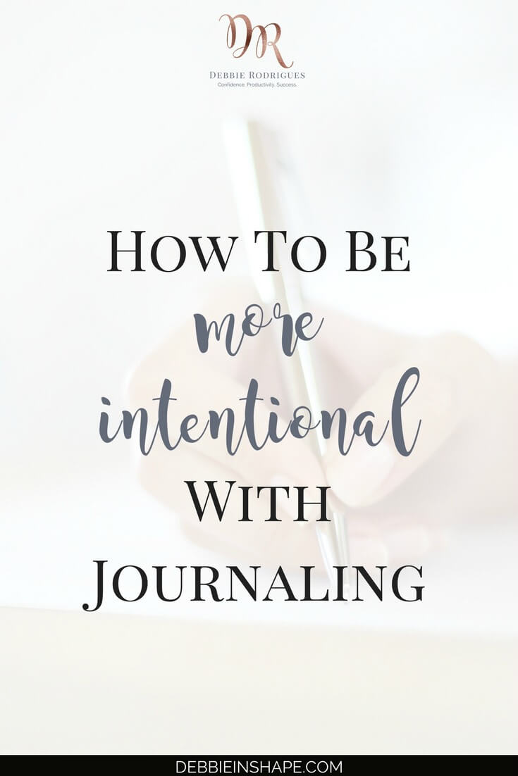 Discover the benefits of being more intentional with journaling. Learn how you can become a better version of yourself one day at a time with daily reflection. Join the 52-Week Challenge For A More Productive You and receive all the support, motivation, and accountability you need to overcome procrastination. #productivity #confidence #success #journaling #intention