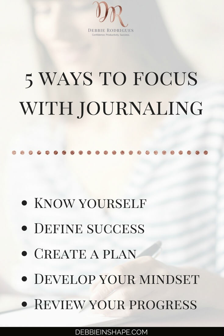How to direct your attention towards your goals with journaling. Develop focus to overcome procrastination and find the motivation you need to be successful. Join the 52-Week Challenge For A More Productive You to get all the help and support you deserve to become a better version of yourself. #productivity #confidence #success #journaling #focus