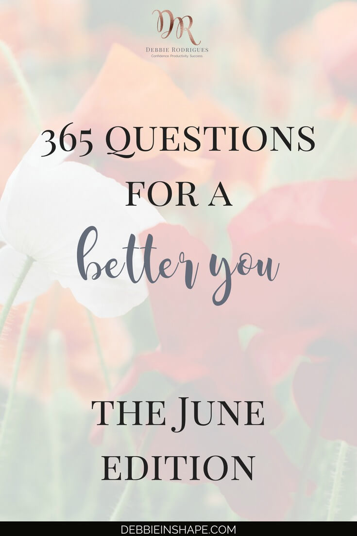 How about using the 365 Questions For A Better You the June Edition to overcome procrastination? Boost your lifestyle one day at a time the pleasant way. #productivity #confidence #success #personaldevelopment #journaling #prompts #365questionsforabetteryou