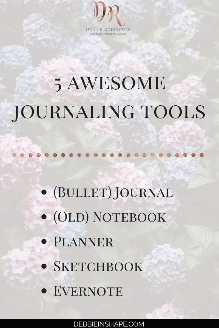 How to keep journaling simple for success. Choose your favorite tool and start your Journey to self-awareness. #productivity #confidence #success #personaldevelopment #journaling #prompts #365questionsforabetteryou